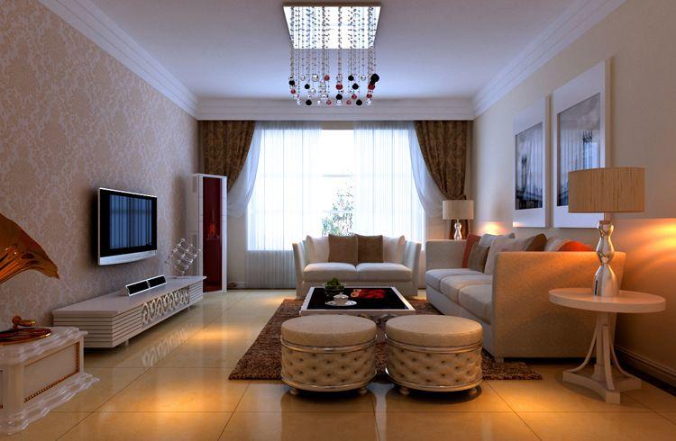 龙山广场 三居室 127.00平米 装修设计 高清图片