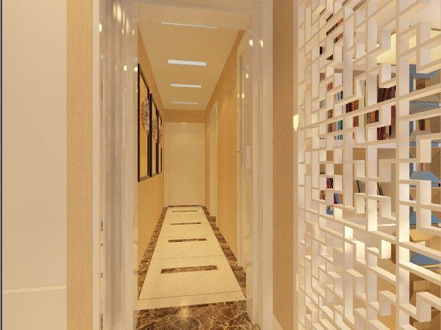 93平二居室装修美图 石材背景墙 绝妙空间设计高清图片