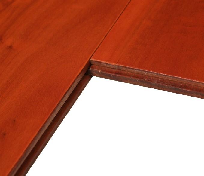 大自然地板tbn102p南洋红桉18mm纯实木地板