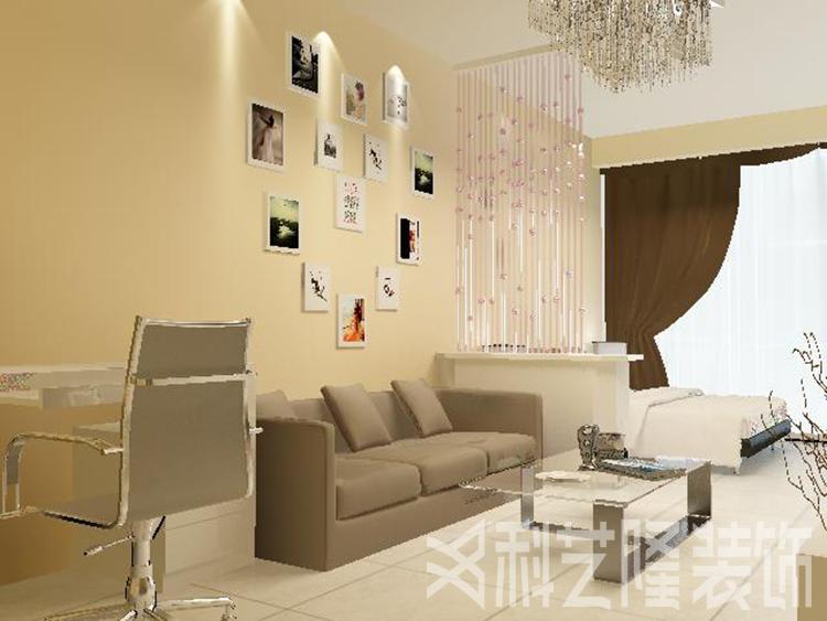 时代奥城酒店式公寓-现代简约-二居室-装修案例设计说明
