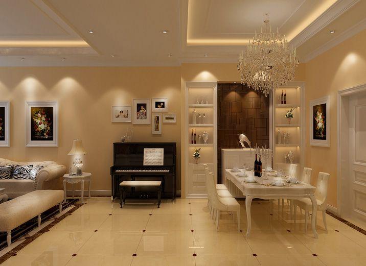 式大豪宅 欧式风格装修效果图震惊你眼球高清图片