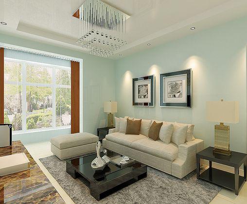 .39平米 客厅装修效果图 高清图片