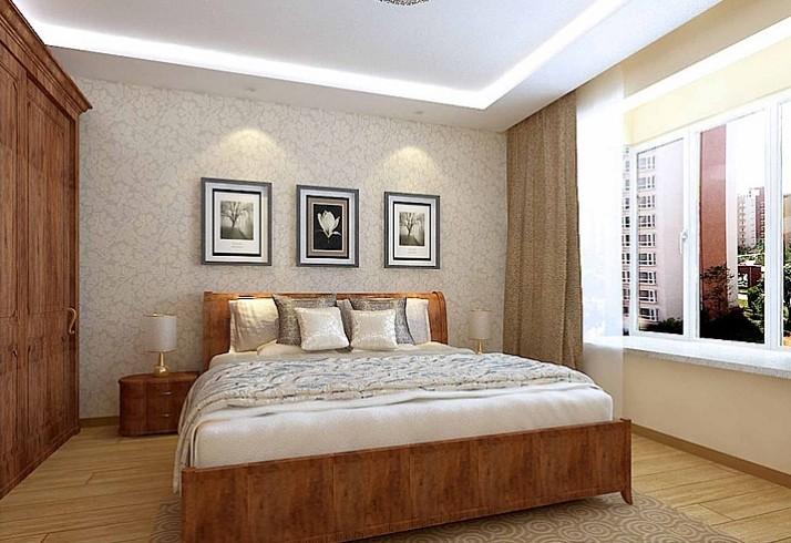 15平米 卧室装修效果图 高清图片