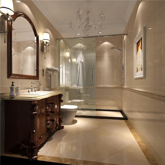 鲁能7号院-三居室-140.00平米-卫生间装修效果图
