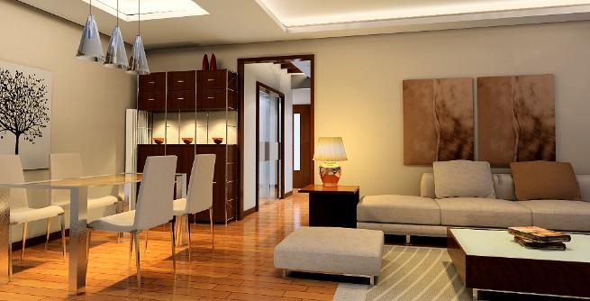 少妇最爱的90平左右二居室装修 像样板间一样的家高清图片