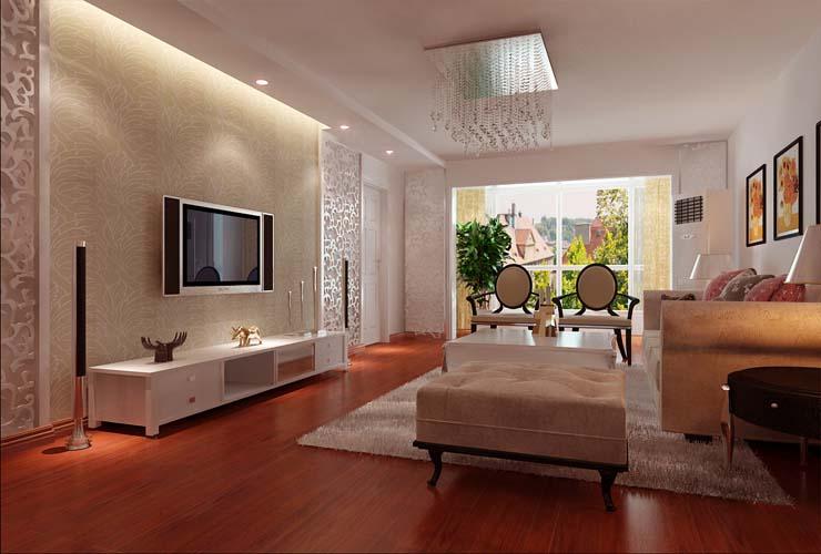 林肯公园-二居室-70.00平米-客厅装修效果图