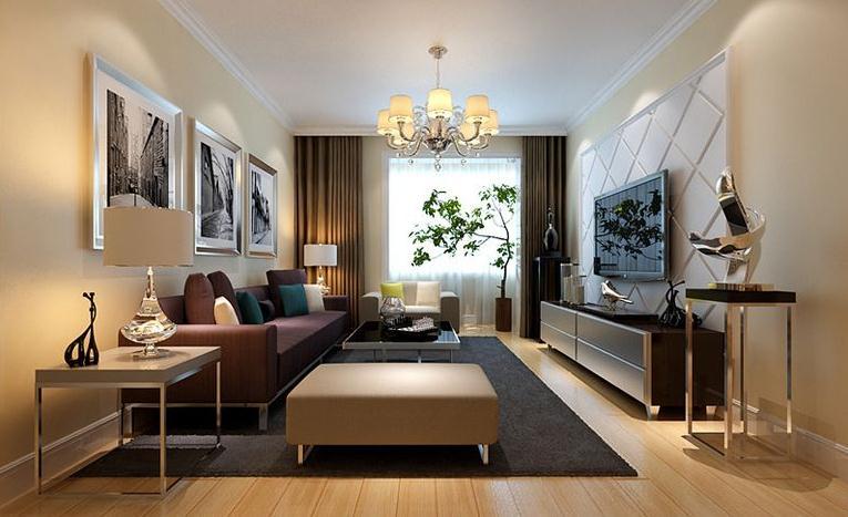 华盛家园-四居室-174.69平米-客厅装修效果图