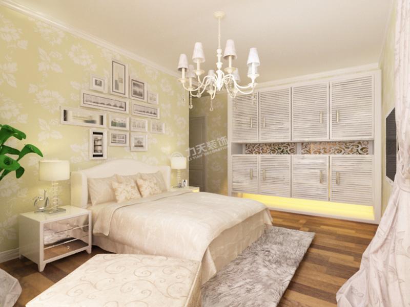 渤海明珠-二居室-92.26平米-卧室装修效果图高清图片