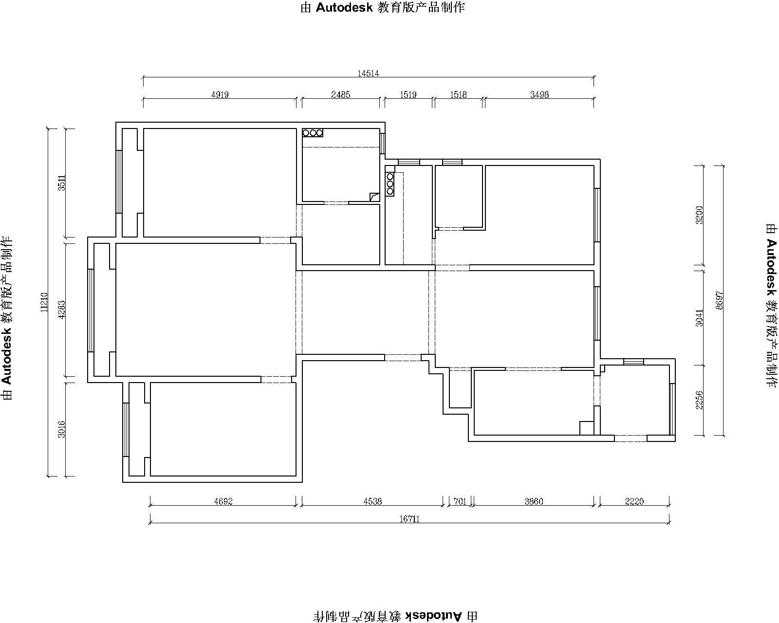 金隅花石匠-简欧风格-三居室-装修案例设计说明