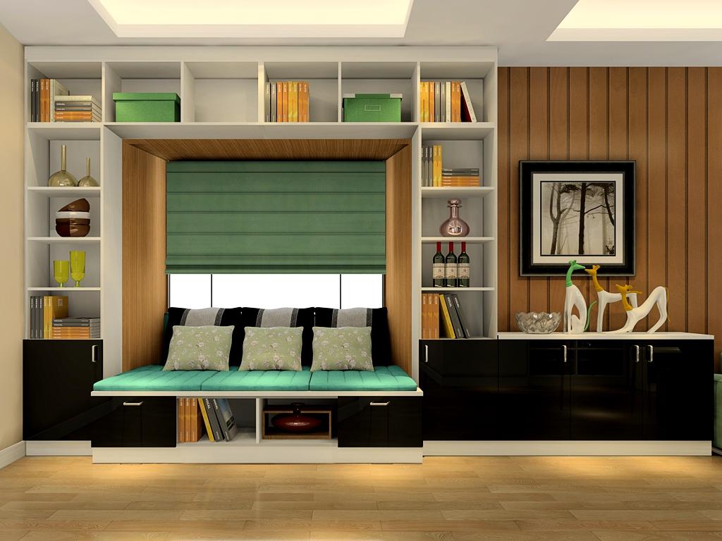 尚品宅配 g17540客厅家具定制 定制电视柜茶转角沙发图片