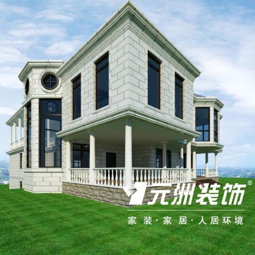 自建别墅-意式新古典-别墅