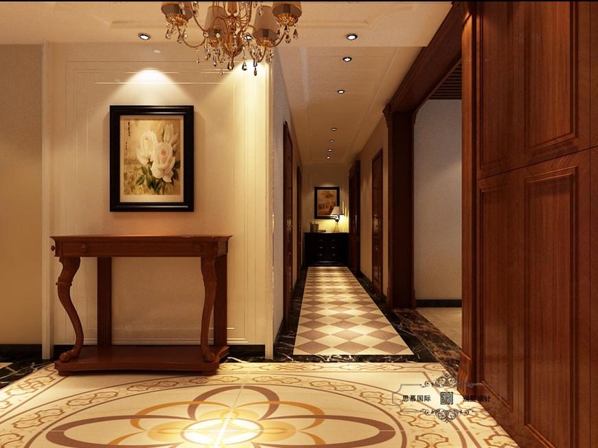 中海国际社区三居室简约美式设计 高清图片