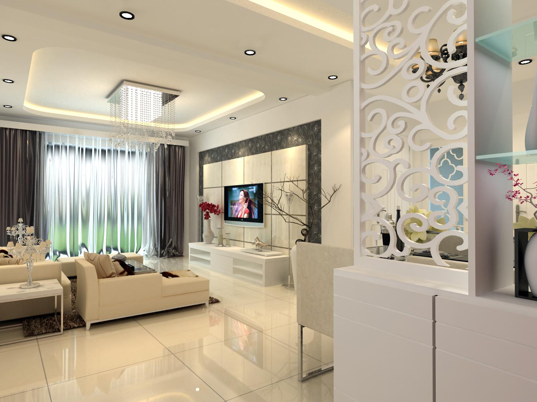 幸福嘉园-简欧风格-三居室-装修案例设计说明图片