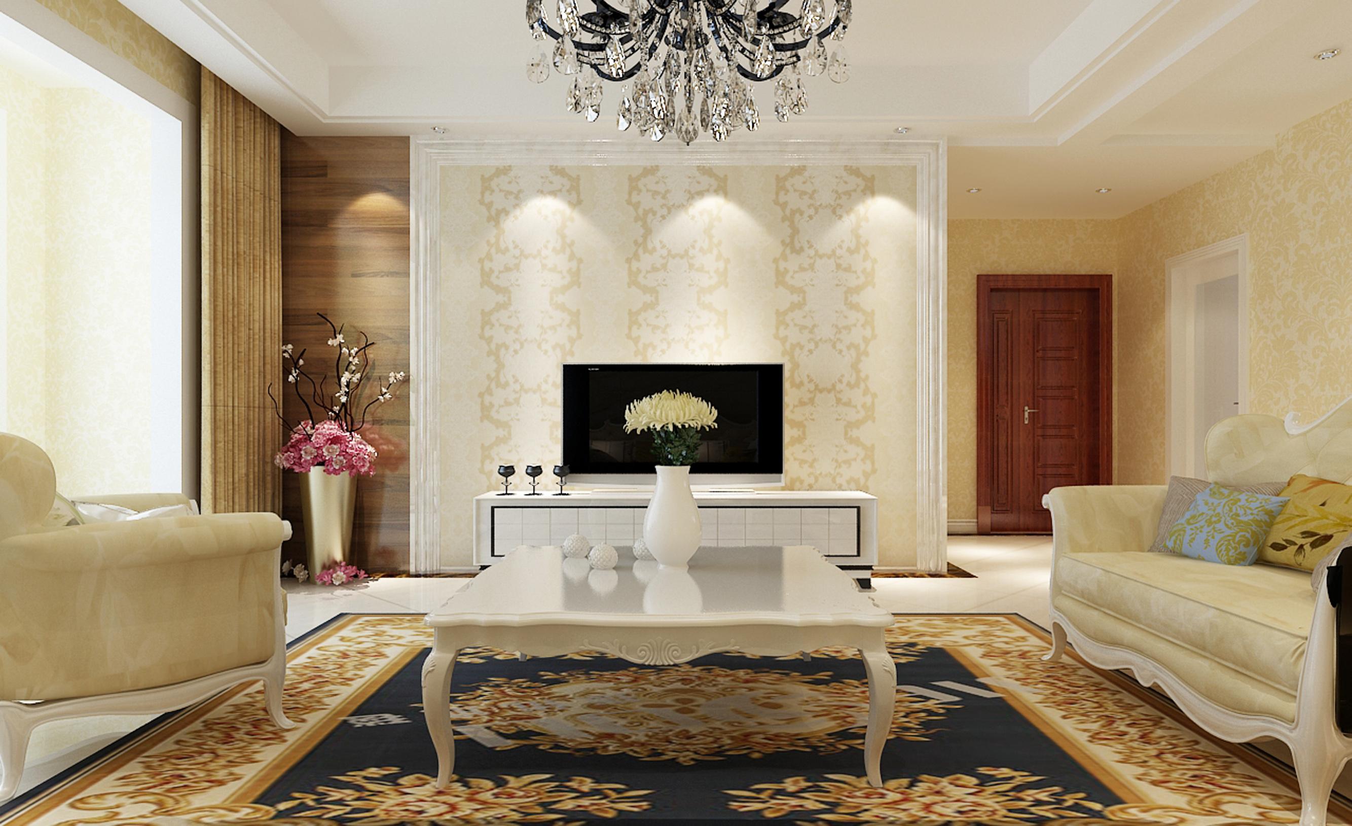 客厅吊顶简单,环保,大气,简约.图片