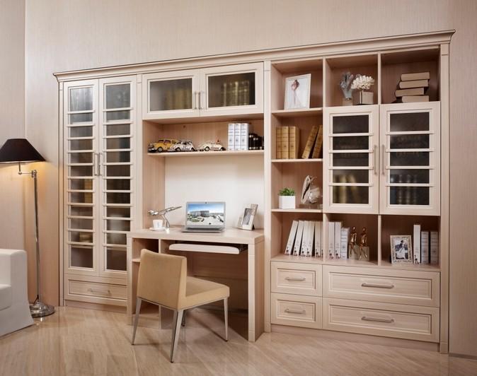 可变书房的书柜设计