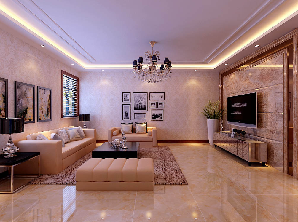 【城市人家装饰】客厅设计——整个客厅给人的感觉。