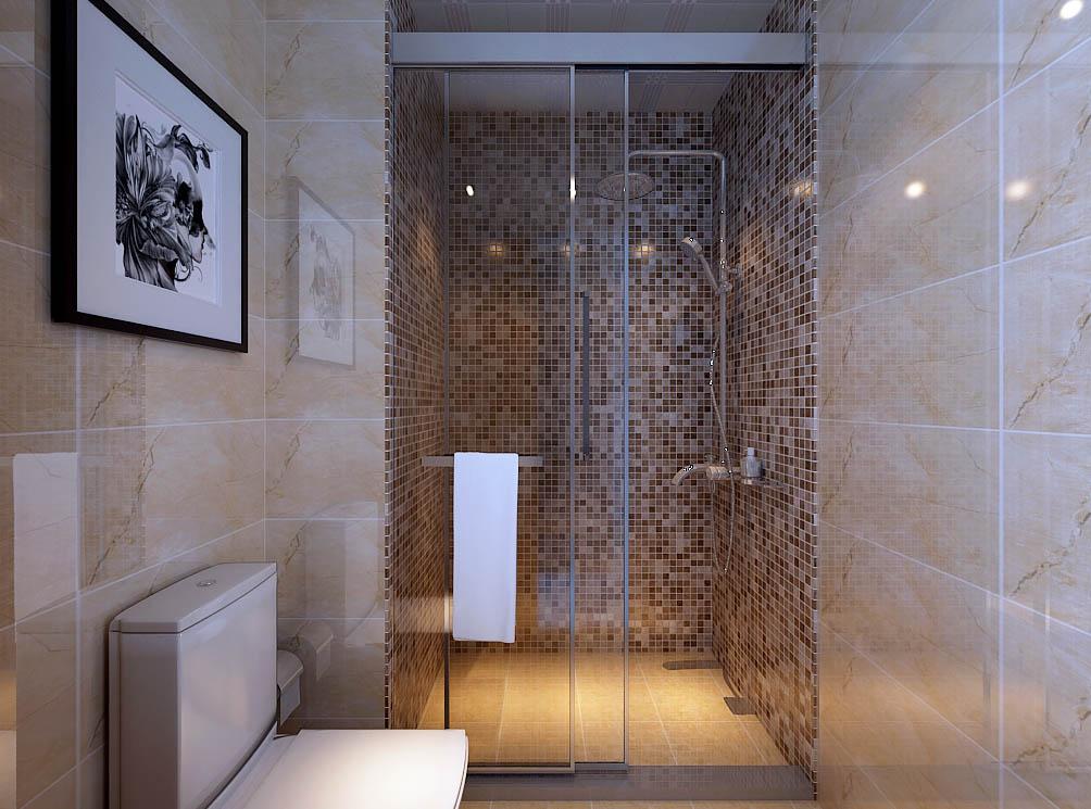 【城市人家装饰】卫生间设计——两个卫生间给人不一样的感觉,明亮