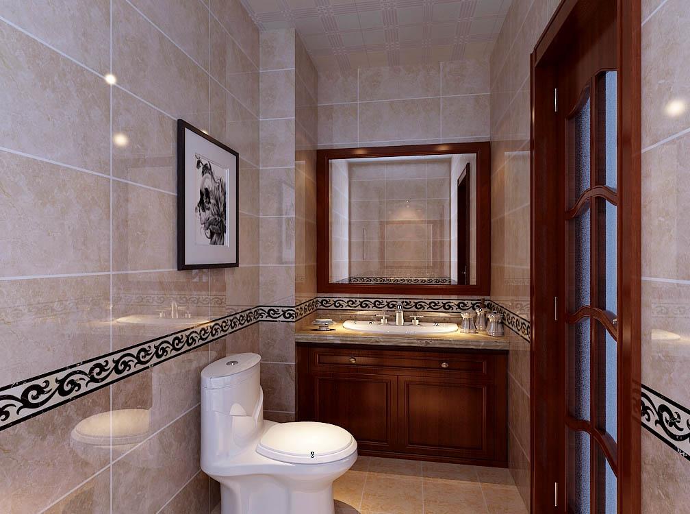 【城市人家装饰】卫生间设计——卫生间空间的利用,功能划分明确。
