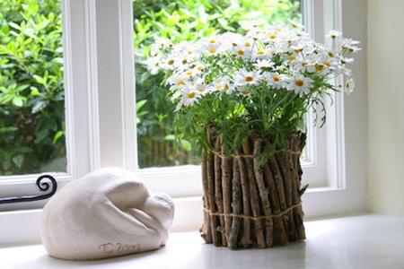 廢物利用diy創意手工制作 搖身一變成花瓶圖片