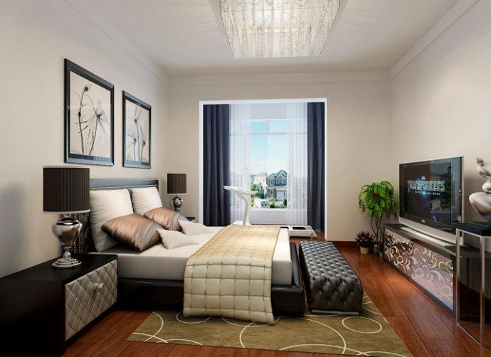兆丰园卧室家居没有那么高雅,配合上木色流线花纹的地板呈现出的整体感觉便是一场似梦如梦的感觉,主体是灯光打射出来的灯光不那么刺眼但却能清楚的看到房间的每一个角落