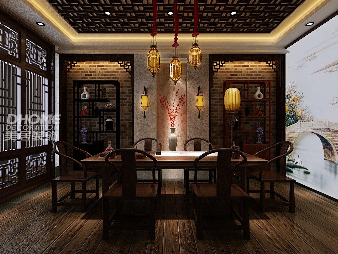 龙翔商务大厦-中式古典-复式图片