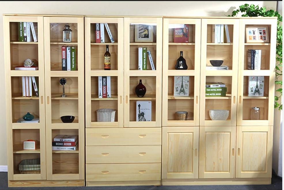庆义高整体衣柜现代风格板式书柜柜体图片
