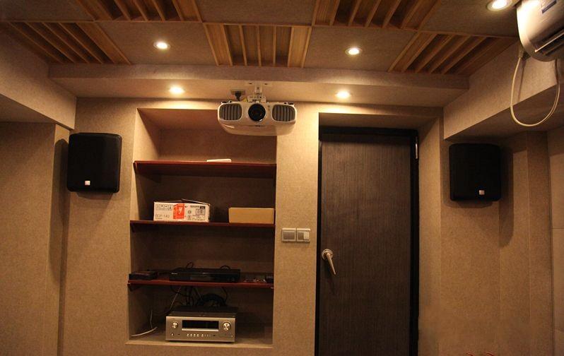 地下影音室_地下室改造影音室,圆你家庭影院梦