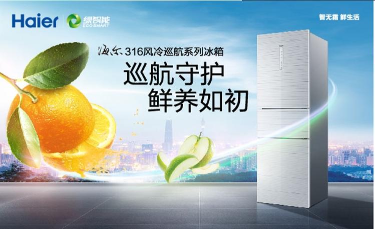 海尔冰箱bcd-316wdcn