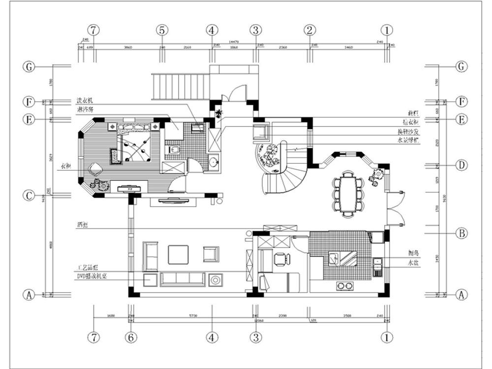 欧式新古典四居室300平米20万 红磡领世郡中央御墅装修案例 石家庄房天下家居装修网
