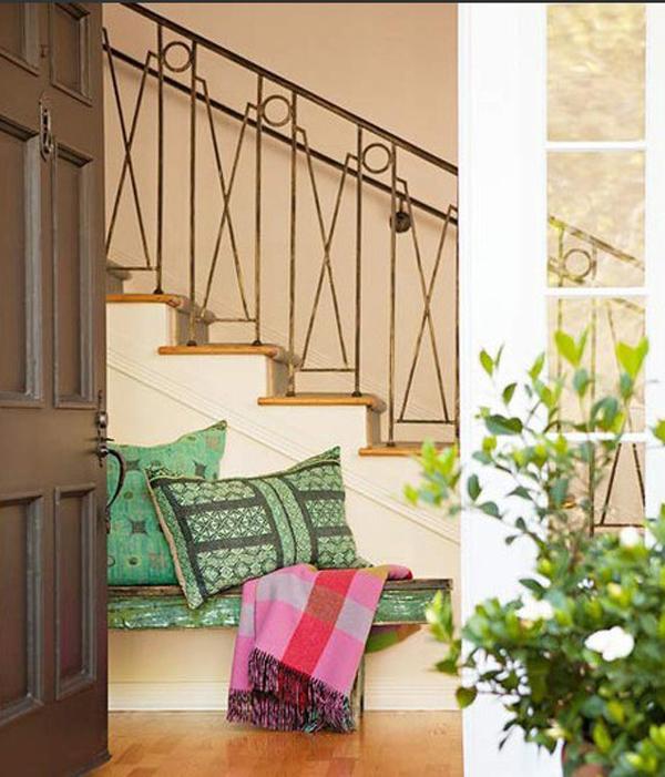 复式的艺术空间 楼梯