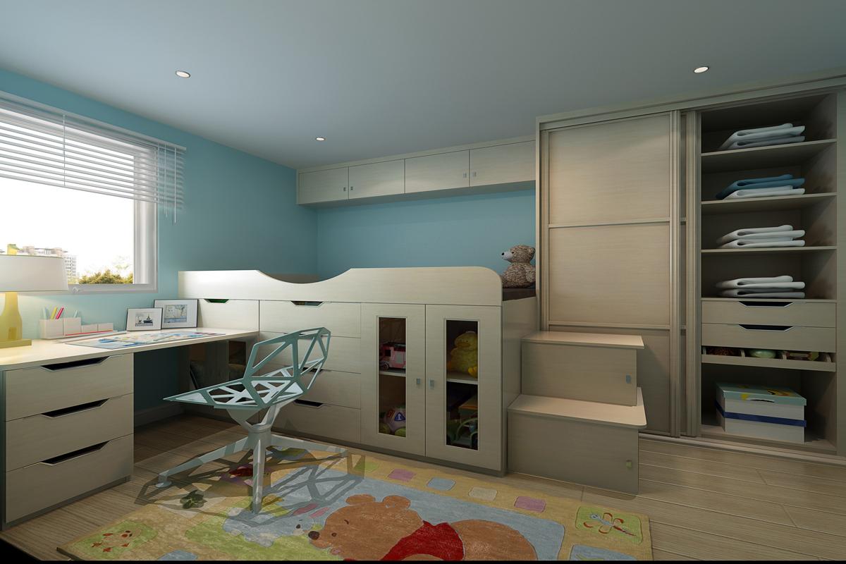 请问我这房间内床,书桌,衣柜该怎么摆放才符合风水?谢谢各位大师!图片