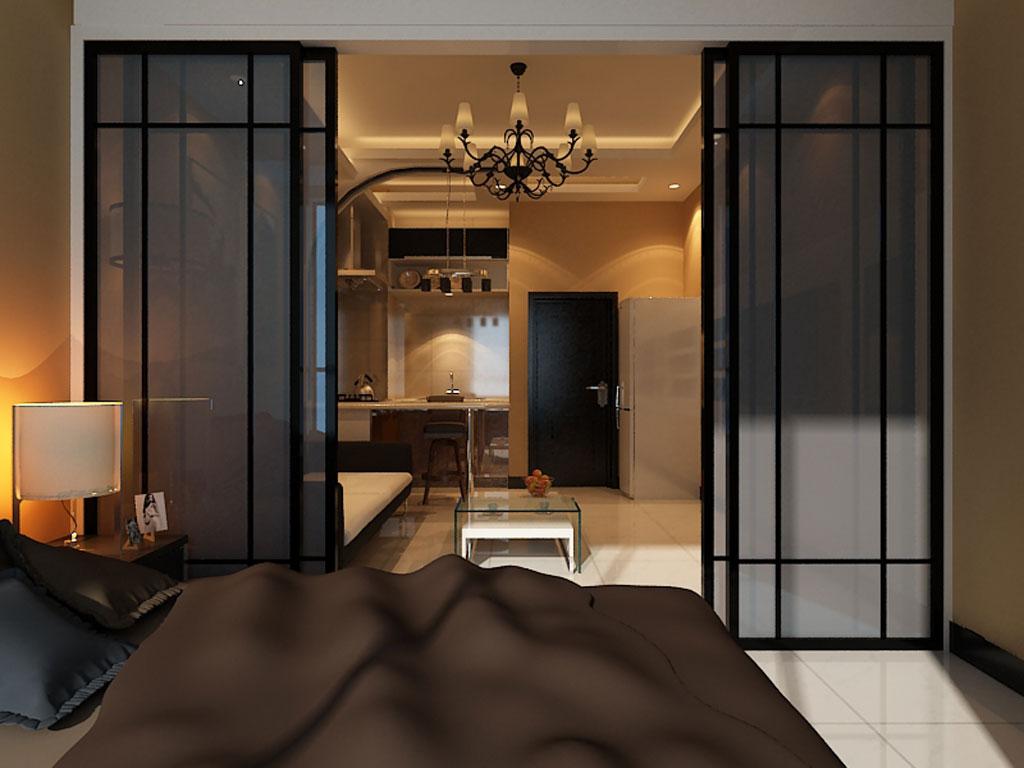 现代简约卧室装修效果图-卧室装修效果图大全2013图片 60款潮流卧室高清图片