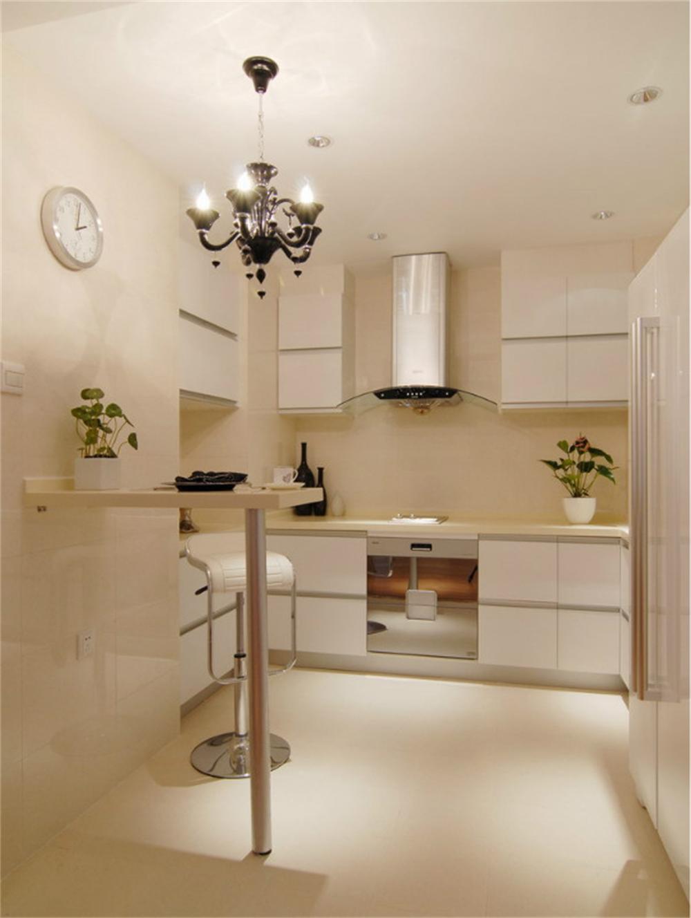 东直门当代MOMA -现代简约-一居室-装修-厨房