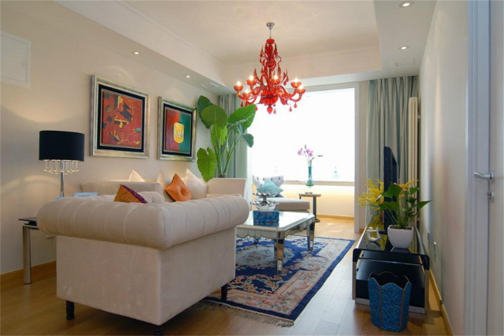 东直门当代MOMA -现代简约-一居室-装修--客厅
