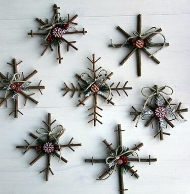 【diy】用枯树枝制作的小玩意手工制作教程