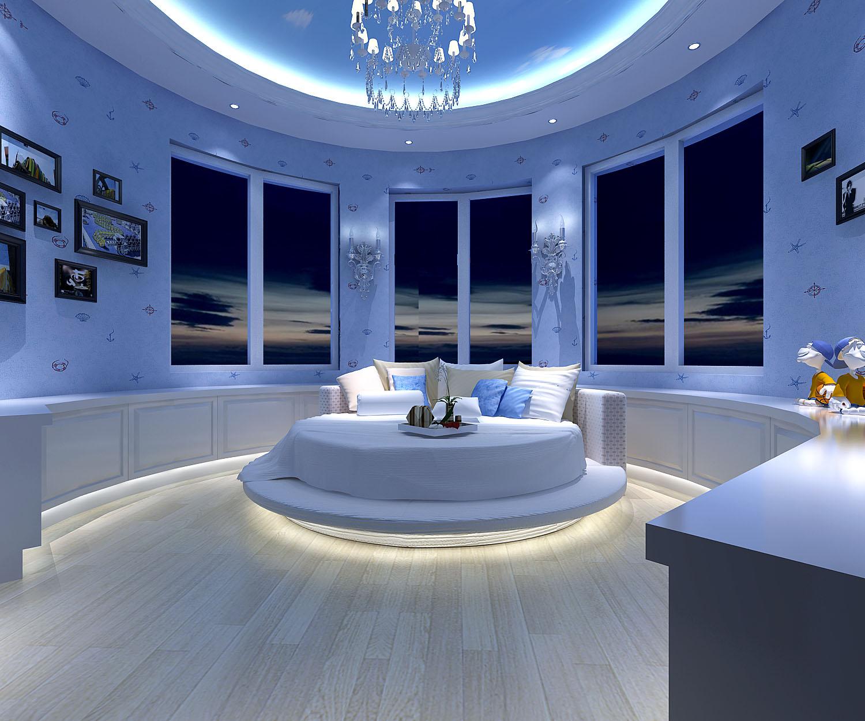 蓝岸丽舍卧室