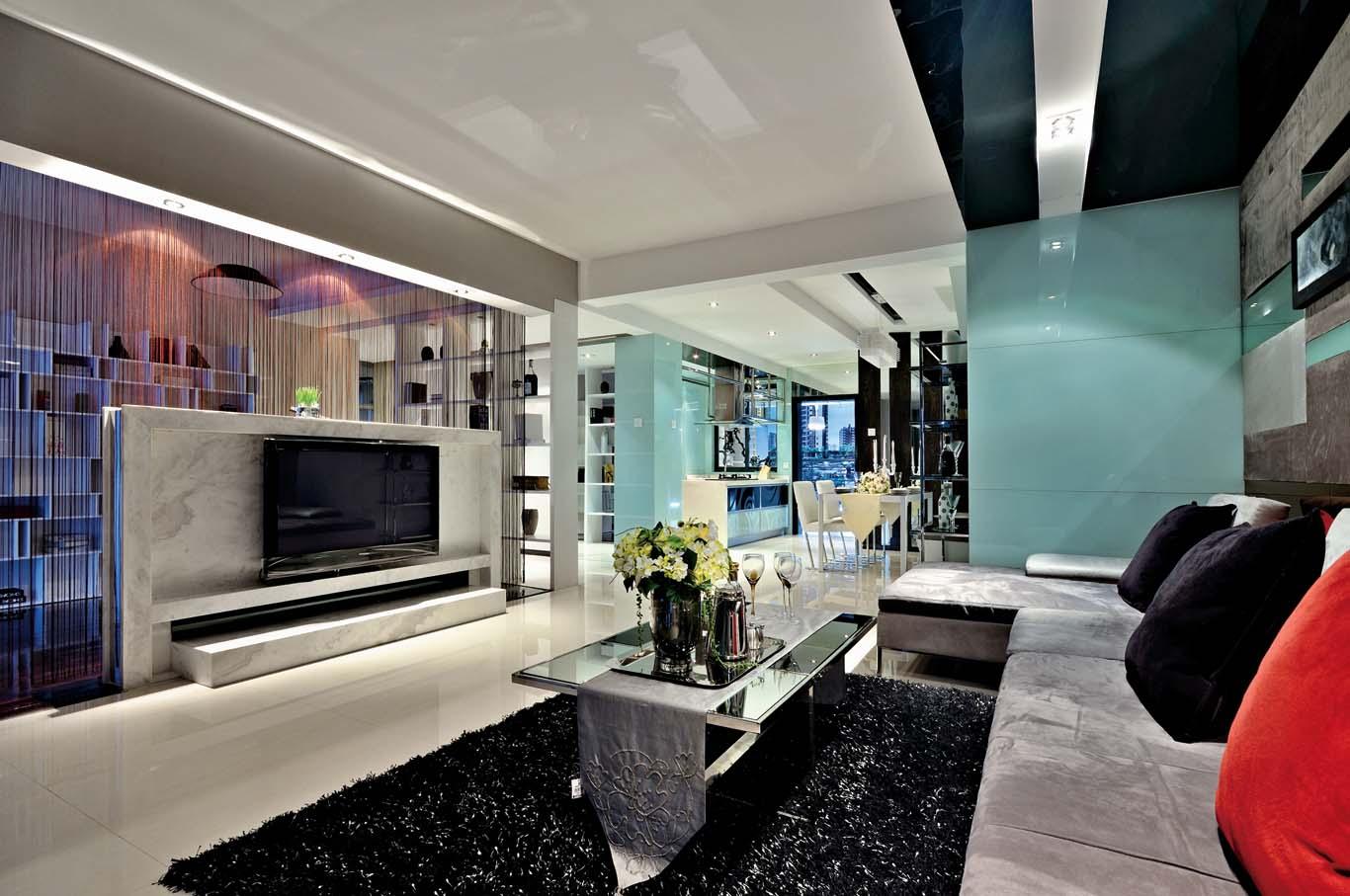 90平米的现代简约风格,原来二居室还可以这样装修!-燕莎公寓装修