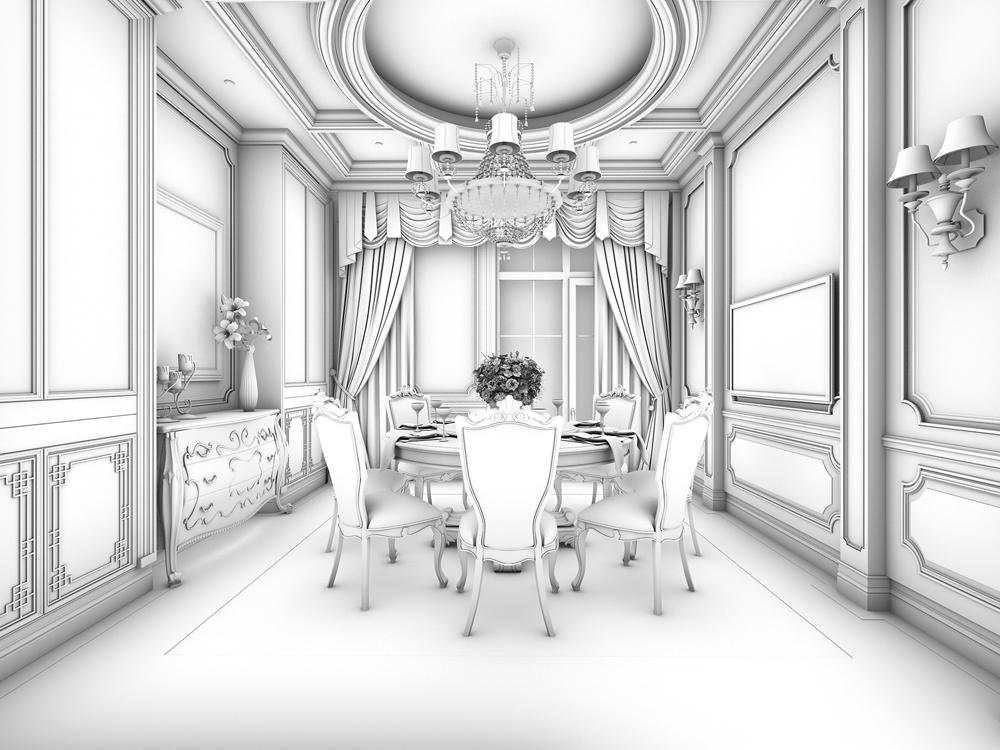 远洋天著-欧式新古典风格-别墅