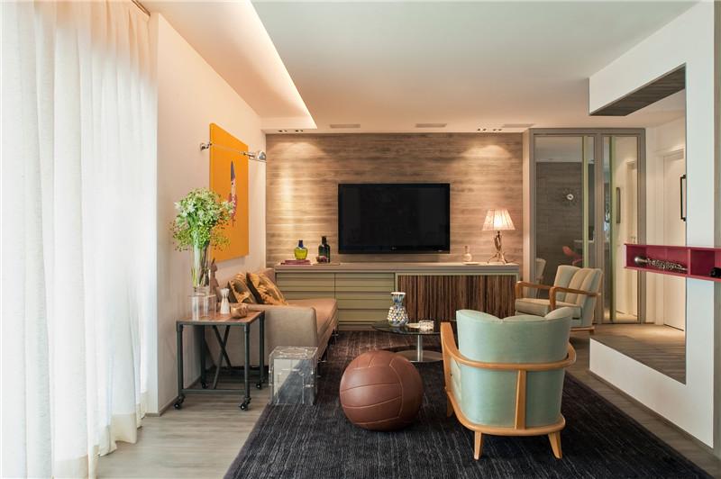 现代风格是比较流行的一种风格,追求时尚与潮流,非常注重居室空间的布局与使用功能的完美结合