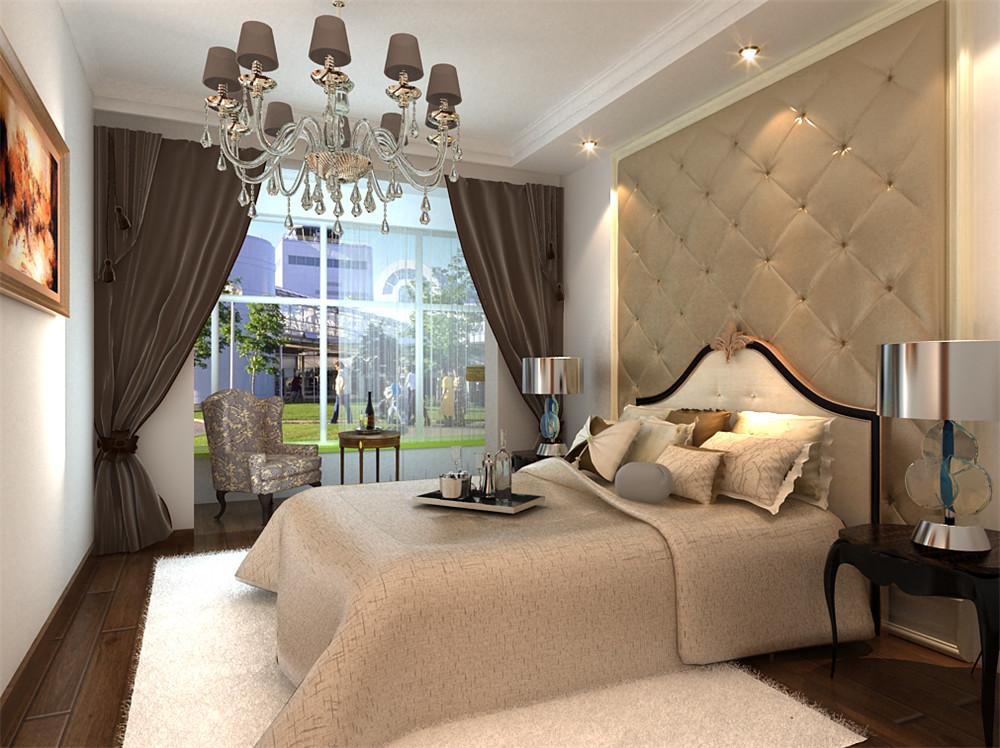 卧室布局。