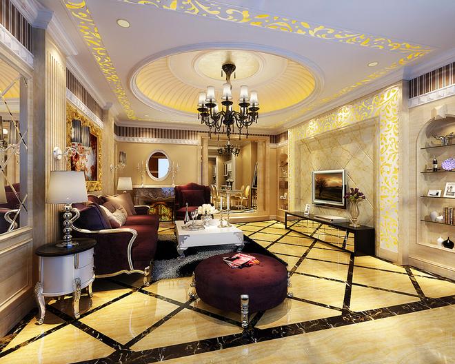 装修最in装修风格效果图 领略欧式风格的豪华高清图片