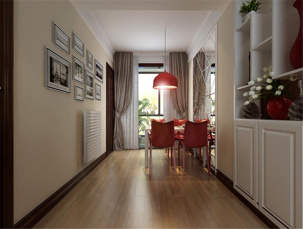 伟东幸福之城88平米二居室 现代简约婚房装修高清图片
