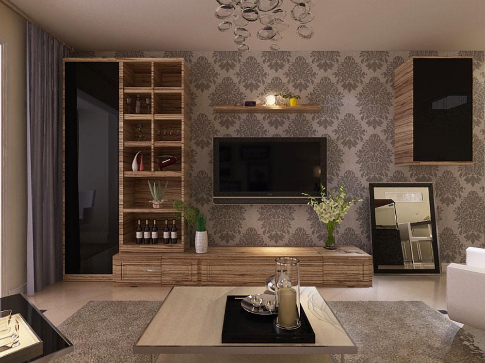 4万块钱装修的110平米的房子,现代简约风格简直太美了!-人才公寓装修