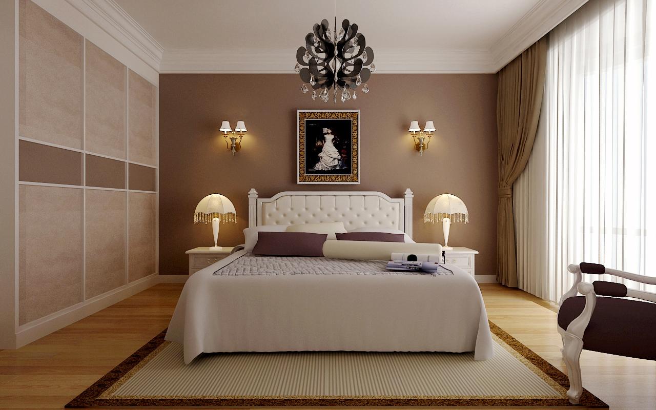 方圆经纬-二居室-79.33平米-卧室装修效果图