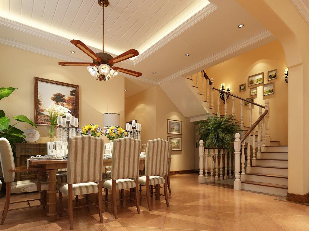 一层入户直对区域进门v区域的空间图片和没有换鞋帽的楼梯.内部门厅宅毫别墅图片