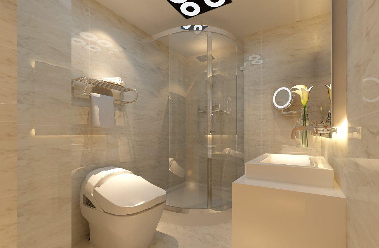 中式风格卫生间装修效果图
