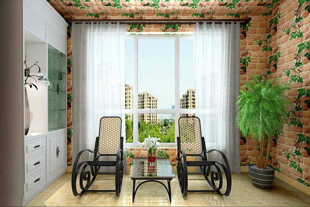 看石家庄 三居室 阳台 简欧风格装修案例-家天下装修帮图片