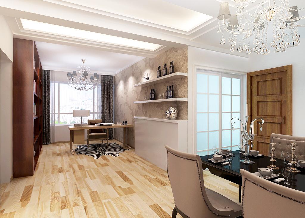 金沙·美丽岛-现代简约-三居室-装修案例设计说明