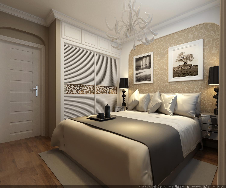 青岛万科紫台-现代简约-二居室-装修案例设计说明