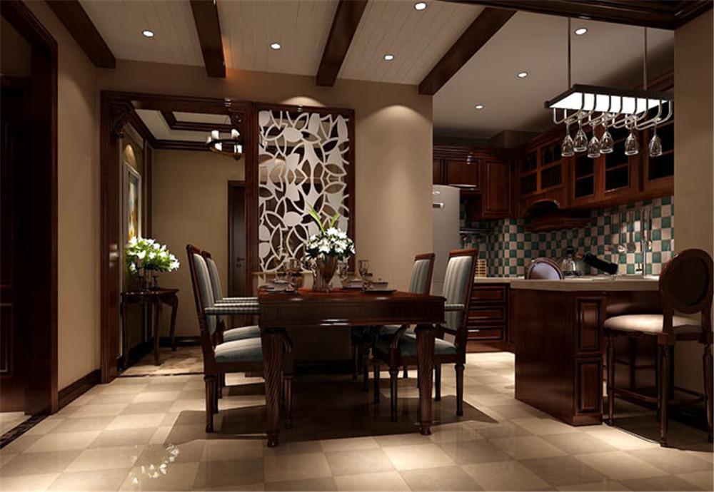 k2海棠湾庭院-二居室-88.00平米-餐厅装修效果图图片
